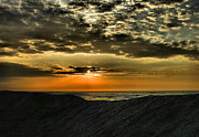 Storm Prints Photo Prints - Sunrise Over Assateague II Print by Steven Ainsworth