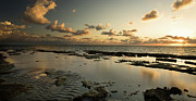 Gold Key Prints - Sunrise over Fossil Reef Print by Matt Tilghman