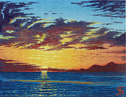 Dumitru Sandru - Sunrise over Gonzaga Bay