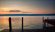 Finger Lakes Photos - Sunrise Over Keuka IV  by Steven Ainsworth