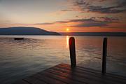 Finger Lakes Photos - Sunrise Over Keuka VI by Steven Ainsworth