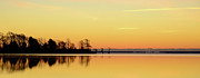 Sunrise Over Lake Print by Patti White Photography