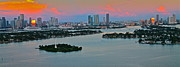 Ronald  Bell - sunrise over Miami 900