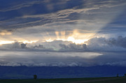 Bruce Gourley - Sunrise Over Montana