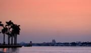 Diane Merkle - Sunrise Over Palm Beach