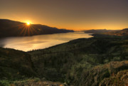 Kamloops Prints - Sunrise Over Paradise Print by Peter Olsen