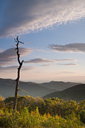 Mountain Scene Photo Prints - Sunrise over Shenandoah National Park  Print by Dustin K Ryan