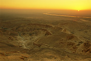 The Kings Photo Prints - Sunrise Over The Valley Of The Kings Print by Kenneth Garrett