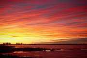 Sunrise Prints - Sunrise over Union Reservoir in Longmont Colorado Boulder County Print by James Bo Insogna