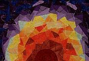 Featured Tapestries - Textiles Originals - Sunrise by Pam Geisel