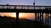 Sunrise Pier Ventura Print by Henrik Lehnerer