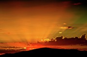 Arizona Digital Art Originals - Sunrise Prescott Arizona by Gus McCrea
