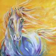 """texas Artist"" Originals - Sunrise Run by Laurie Pace"