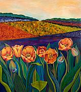 Anne Nye - Sunrise Tulips