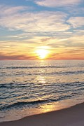 Panama City Beach Framed Prints - Sunset 1 Framed Print by Sharon Ventimiglia