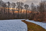 Medford Photos - Sunset Along The Path by Louis Dallara