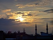 Necati Cil - Sunset And The Minaret