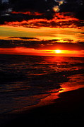 Water Scenes Photos - Sunset Appeal  by Emily Stauring