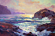 David Lloyd Glover - Sunset At Big Sur