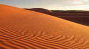 Coral Pink Sand Dunes Photos - Sunset at Coral Pink Sand Dunes by Pierre Leclerc
