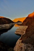 Gwen Allen - Sunset at Hoover Dam