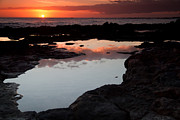 Koloa Framed Prints - Sunset at Koloa Framed Print by Roger Mullenhour