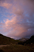 Crested Butte Prints - Sunset at Mt. Crested Butte Print by Timothy Johnson