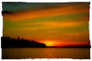 Sound Digital Art - Sunset at Redondo by David Patterson