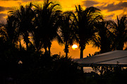 Carribean Prints - Sunset at St. Martin Print by Andriy Zolotoiy