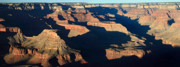 World Wonder Posters - Sunset at the Grand Canyon Panorama Poster by Pierre Leclerc