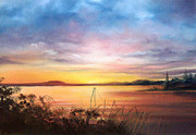 Jan Farthing Art - Sunset Bay by Jan Farthing