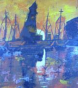 Cove Mixed Media - Sunset Cove  by Samuel Banks