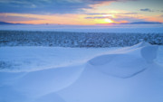 Snow Drifts Photos - Sunset Drift by Idaho Scenic Images Linda Lantzy