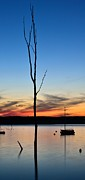 Manasquan Reservoir Prints - Sunset Print by Ekaterina LaBranche