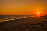 Emerald Isle Framed Prints - Sunset Emerald Isle Framed Print by Dan Vidal