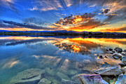 Loveland Photo Prints - Sunset Explosion Print by Scott Mahon