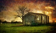 Peter Daltrey Art - Sunset Farm by Peter Daltrey