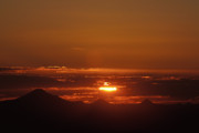 Tamborine Photos - Sunset from Mt Tamborine by Trevor Kirkham