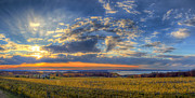 Traverse City Prints - Sunset from Old Mission Print by Twenty Two North Photography
