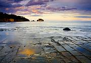 Australia. Photo Prints - Sunset Grid Print by Mike  Dawson