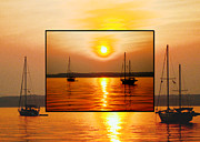 Judee Stalmack Framed Prints - Sunset in a Sunset Framed Print by Judee Stalmack