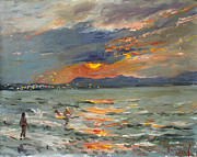 Ylli Haruni - Sunset in Aegean Sea