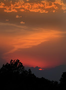 Kansas City Metal Prints - Sunset in Kansas Metal Print by Don Wolf