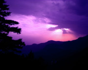 On Paper Photo Originals - Sunset in Nainital by Ankeeta Bansal