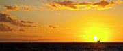 Panorama Landscapes - Sunset in St Kilda by Edan Chapman