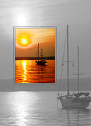 Judee Stalmack Framed Prints - Sunset Framed Print by Judee Stalmack