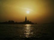 Martina Fagan - Sunset leaving Venice