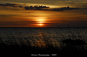 Amp Framed Prints - Sunset n Sea Oat Sunset at Vista Key Beach  Framed Print by G Adam Orosco