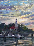 Ylli Haruni - Sunset on Lake Shore Mississauga