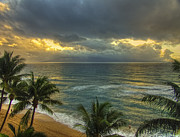 Condolences Prints - Sunset On Maui Print by Jay Hooker